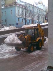 Вывоз снега , вывезти снег