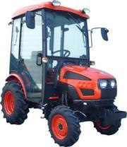 Мини-трактор KIOTI CK35 с отапливаемой кабиной
